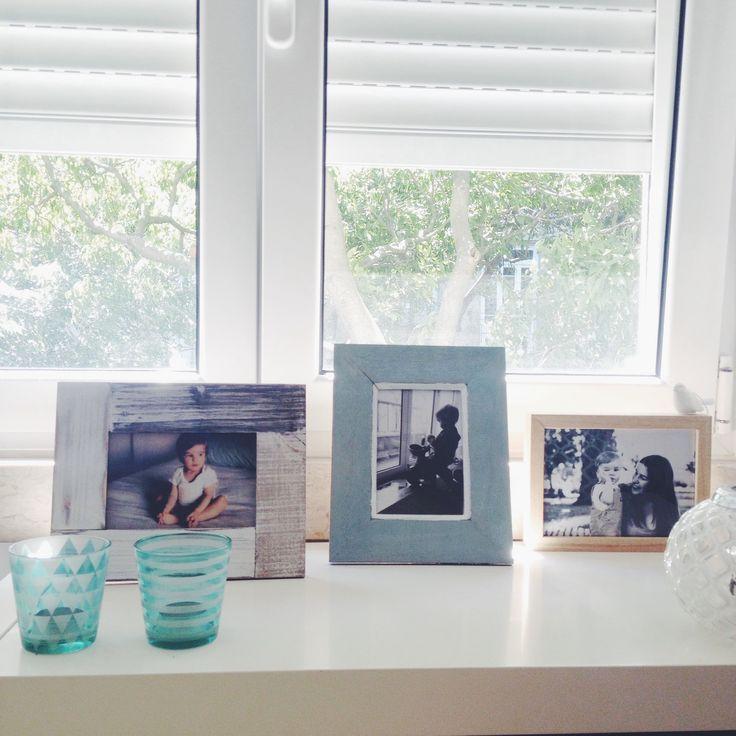 Living room, frames