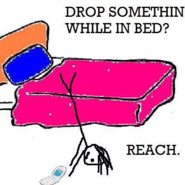Anything to keep from getting out of bed!: Laughing, Beds, Quote, Random, Truths, Funny Stuff, So True, Things, True Stories