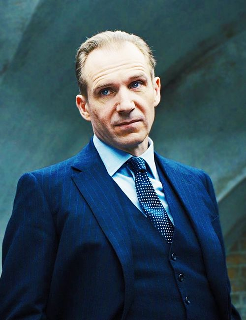 Ralph Fiennes as Gareth Mallory - the new M (Skyfall, 2012)