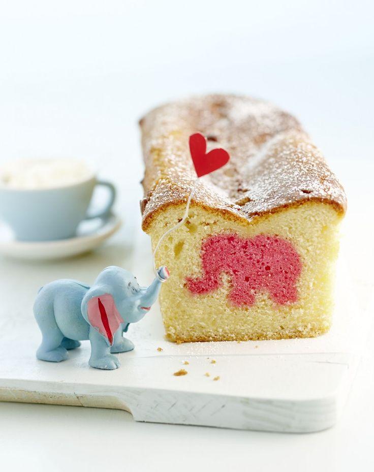 Hurra ein rosaroter Elefantenkuchen wundertuetchen.de