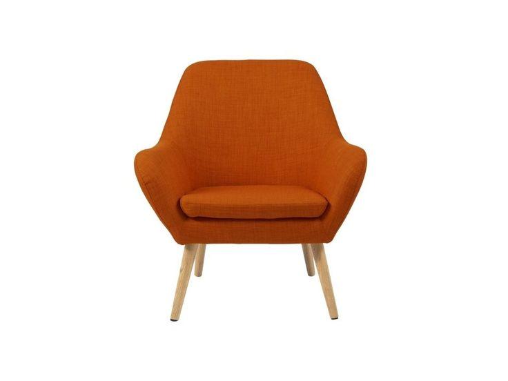 Fotel Astro pomarańczowy — Fotele Actona — sfmeble.pl