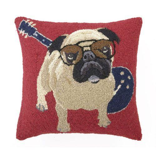 Pug Pillow from PoshTots
