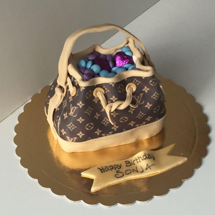 Cake Louis Vuitton Bag Purse Torte Louis Vuitton Handtasche Tasche