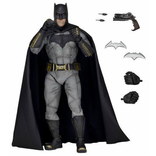Batman v Superman Dawn of Justice Movie 1/4 Scale Batfleck Batman Action Figure #NECA