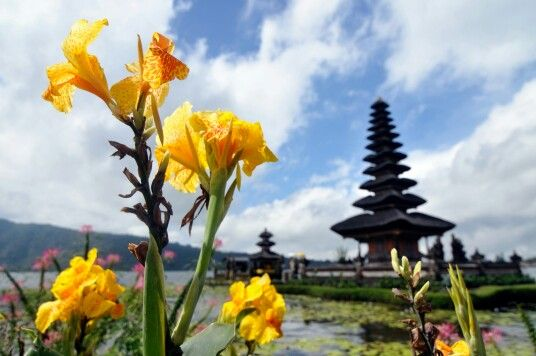 Ulundanu Temple is one of the many beautiful places to visit in Bali Island, Indonesia, 130611
