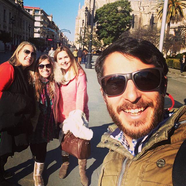 Avenida de la Constitución en Sevilla, Andalucía