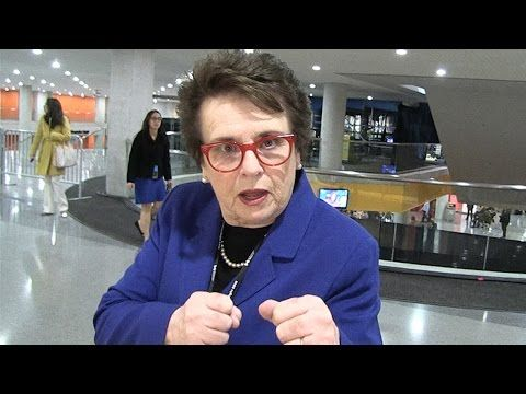 Billie Jean King -- DON'T QUIT ON HILLARY ... It Ain't Over Yet!