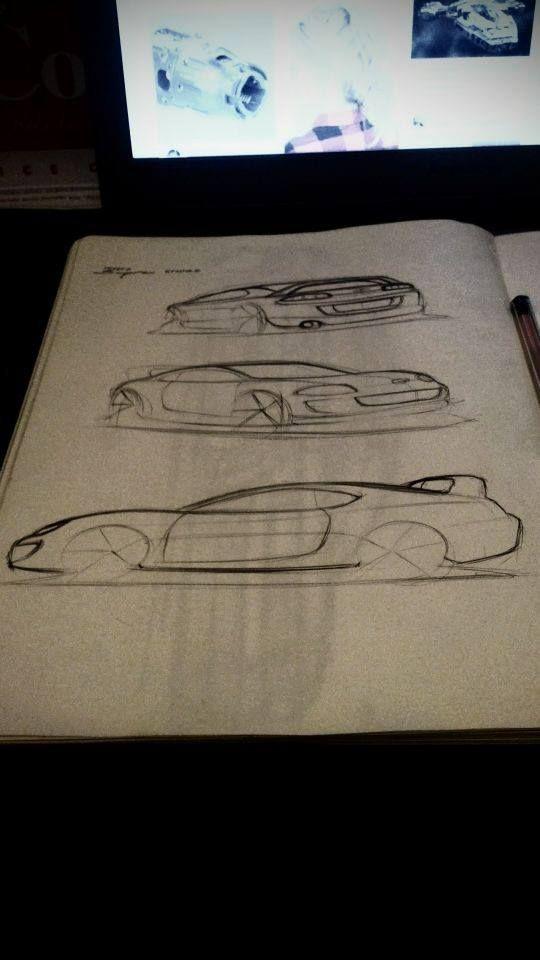 Toyota Supra studies
