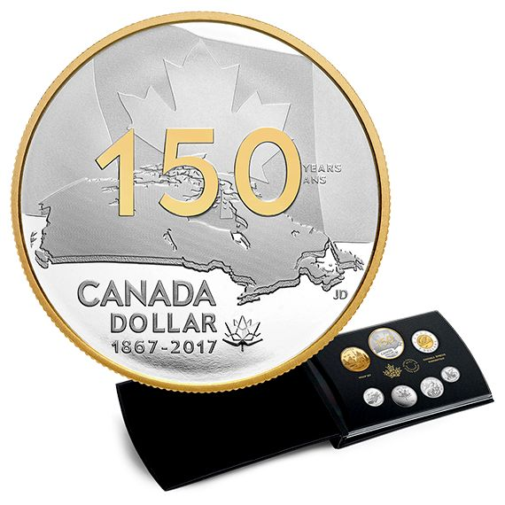 CANADA 150: Our Home and Native Land – 2017 Special Edition Pure Silver Proof Set