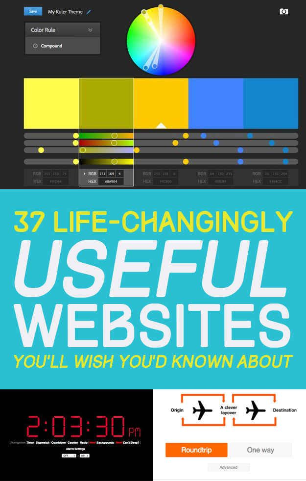 37 Life-Changingly Useful Websites You Should Know About