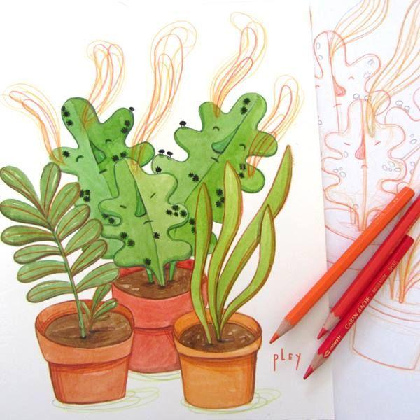Ilustración de Paulina Leyton