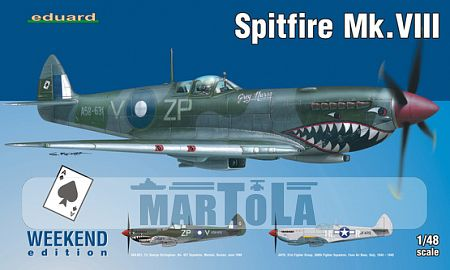 obrazek: Spitfire Mk.VIII weekend edition