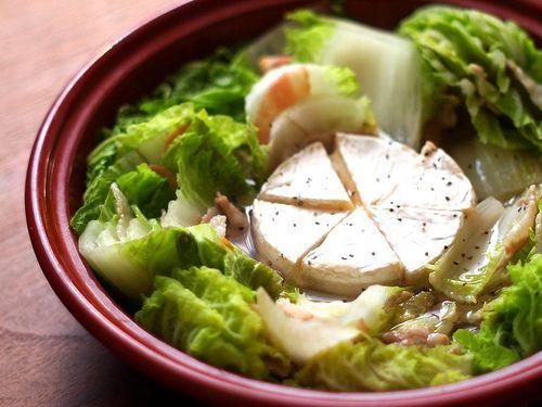 この冬絶対おすすめ!白菜と豚肉のカマンベールチーズ鍋 : ほかともごはん