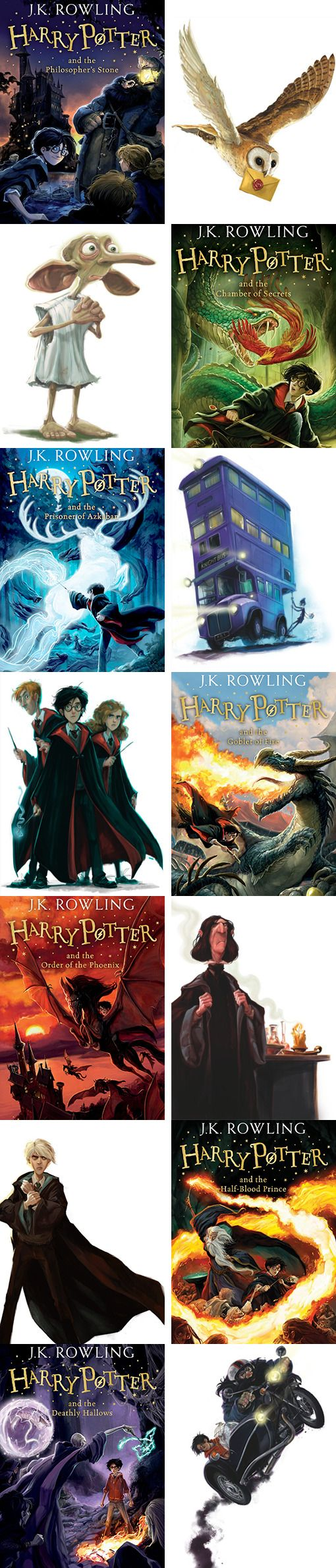 Here are the new UK Harry Potter covers you won't be able to buy. - Harry Potter's publisher, Bloomsbury, announced a new line of covers for the book series. - The UK Harry Potter cover illustrations by Jonny Duddle + the front and back covers