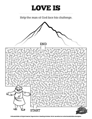 1 Corinthians 13 Love Is Bible Mazes: Featuring bold artwork