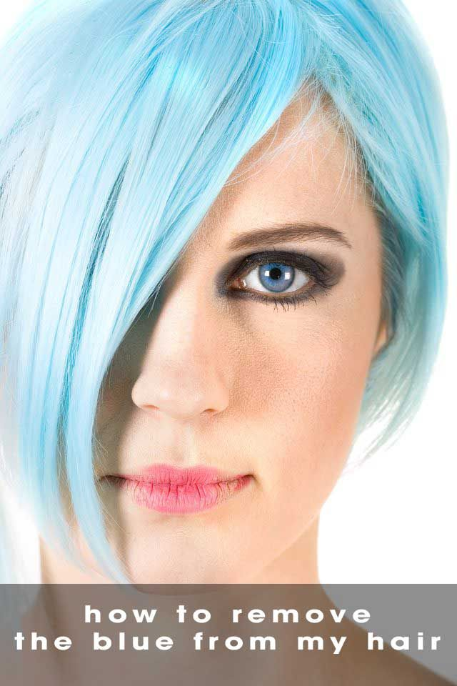 How Do You Go About Removing Blue Hair Dye In 2020 Dyed Hair Blue Permanent Blue Hair Dye Blue Hair