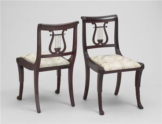 22 best images about Lyre back 1940 dining room furniture