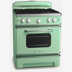 SERIOUSLY? I need to start saving NOW so I can replace all the kitchen appliances in the new house with these Big Chill modern (but SO retro) appliances! (pray that the hubby cooperates! :) -Made in Colorado-