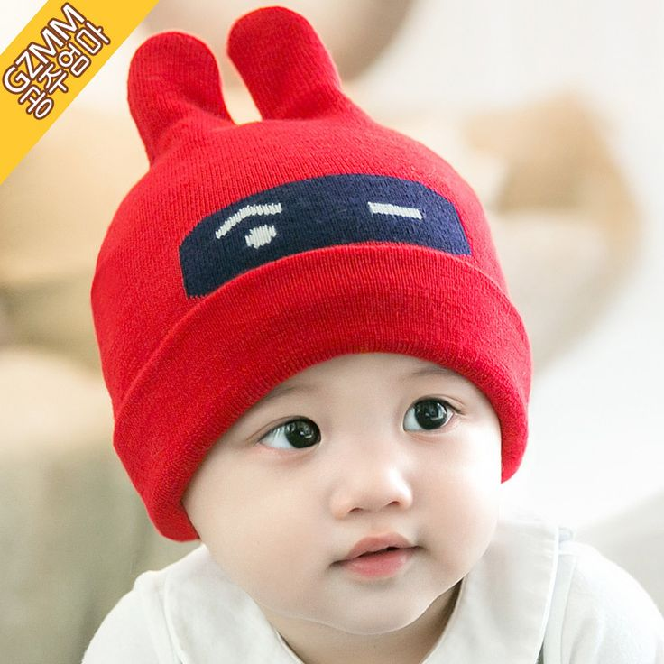 >> Click to Buy << 2016 New Fashion Baby Hats Winter Cute Rbbit Caps For 6-24 Month Baby Unisex Boys Girls Hats Warm Knitting Caps Red Blue Pink #Affiliate
