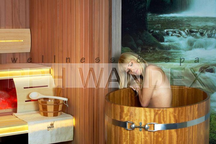 Galeria zdjęć strefa welness spa - schładzanie po kąpieli w saunie,