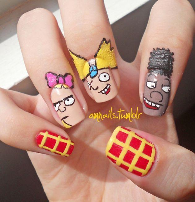 Tatuajes para Cutículas, una moda que acompaña a las uñas decoradas | Decoración de Uñas - Manicura y NailArt