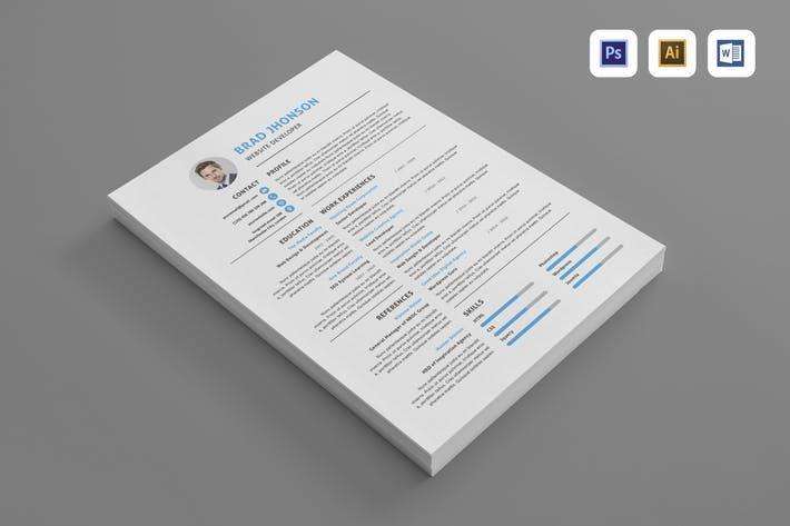Resume Resume Download Resume Envato