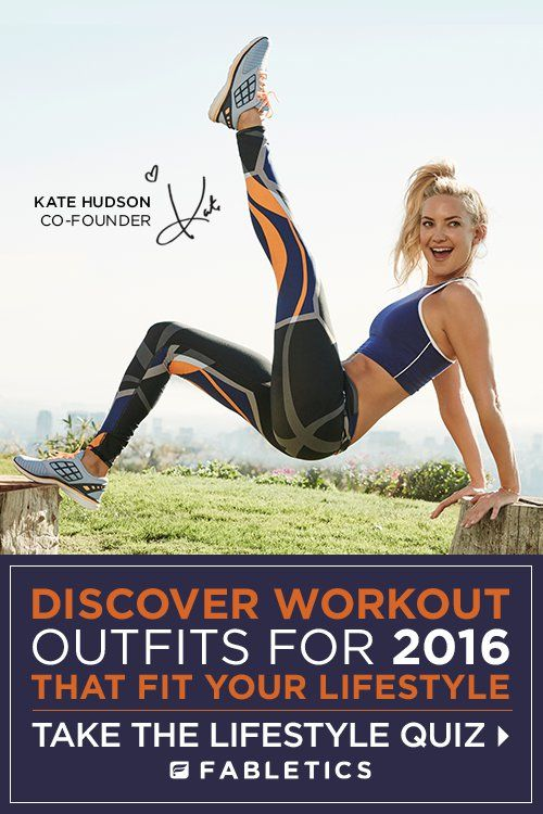 Fabletics by Kate Hudson. Join today for an exclusive VIP offer. First outfit for $25. As a VIP, you'll enjoy a new boutique of personalized styles each month, as well as exclusive pricing, early access to sales & free shipping on orders over $49. Don't think you'll need something new every month? No problem – click 'Skip The Month' in your account by the 5th and you won't be charged. Discover Workout Outfits  that are Curated for Your Lifestyle by taking our Lifestyle Quiz!