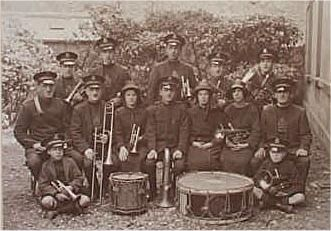Larne Salvation Army Band, 1926, N Ireland