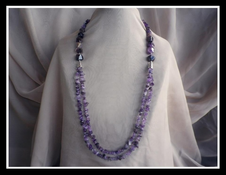 Beautiful Handmade Gemstone Jewellery  - Amethyst  http://www.facebook.com/ZadiaDesigns
