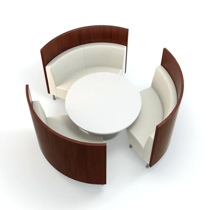 Round Benches Seating Dining Tables Curved Bench For Round Table