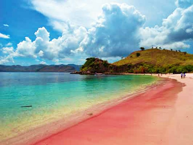 Pink Beach, #Komodo Island, #Indonesia