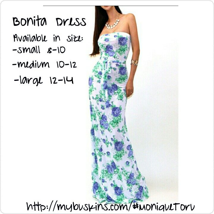 Our new Bonita Dress available in small, medium, and large now on our website http://mybuskins.com/#MoniqueToru affiliate referred Monique Toru