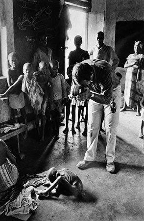 Cinematographer Raymond Depardon Biafra, Nigeria August 1968 by Gilles Caron