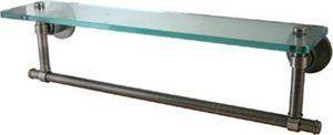 "16 Glass Shelf. Finish : Antique Brass by Allied. $90.86. 16"" Glass Shelf3/8"" thick tempered glass"
