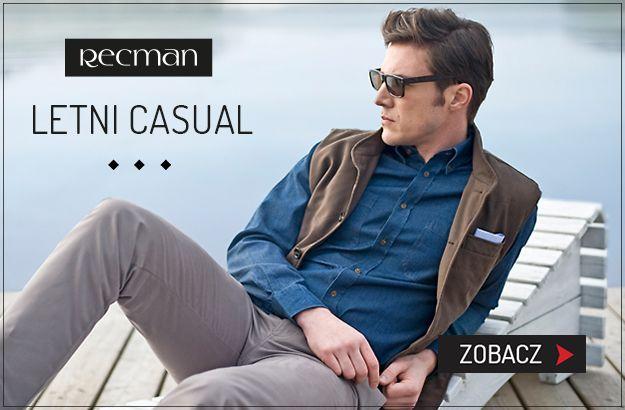 Letni Casual w stylu Recman  #recman #banner #casual #banner #fastwhitecat