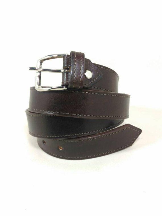 Guarda questo articolo nel mio negozio Etsy https://www.etsy.com/it/listing/496234694/cintura-in-cuoio-cintura-marrone-in