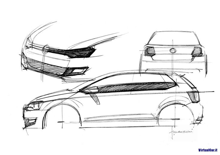 215 best car sketch sideview images on Pinterest