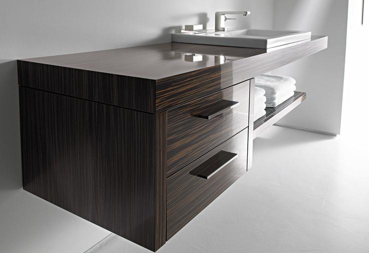 Duravit 2nd floor 049112 Washbasin Sink 04911266241 Stainless Steel Matt