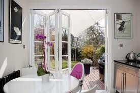 Image result for bifold doors with bars