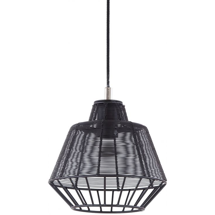 Durango Iron Pendant Light, Black
