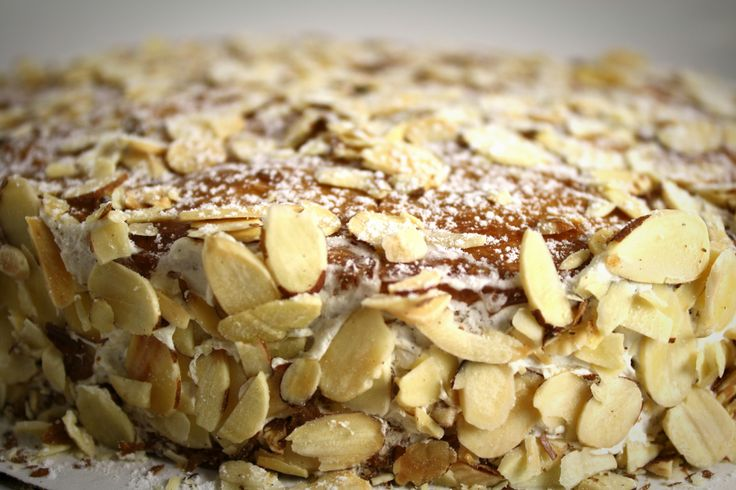 Almond Torte Recipe from @Delta Bow Valley Happy Mother's Day.