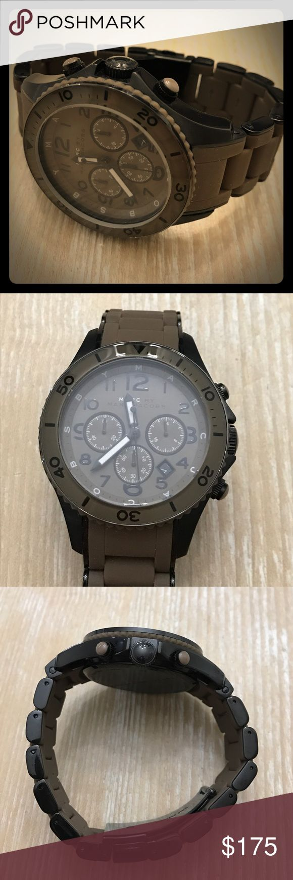 Brand new MARC by MARC JACOBS MENS WATCH Brand new MARC by MARC JACOBS MENS WATCH. Never worn. I purchased for a gift for my HUSBAND who never once wore it. So now it's time to find it a new owner who will appreciate it! Marc by Marc Jacobs Accessories Watches