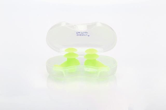 Professional Swimming & Surfing Soft Silicone Ear Plugs