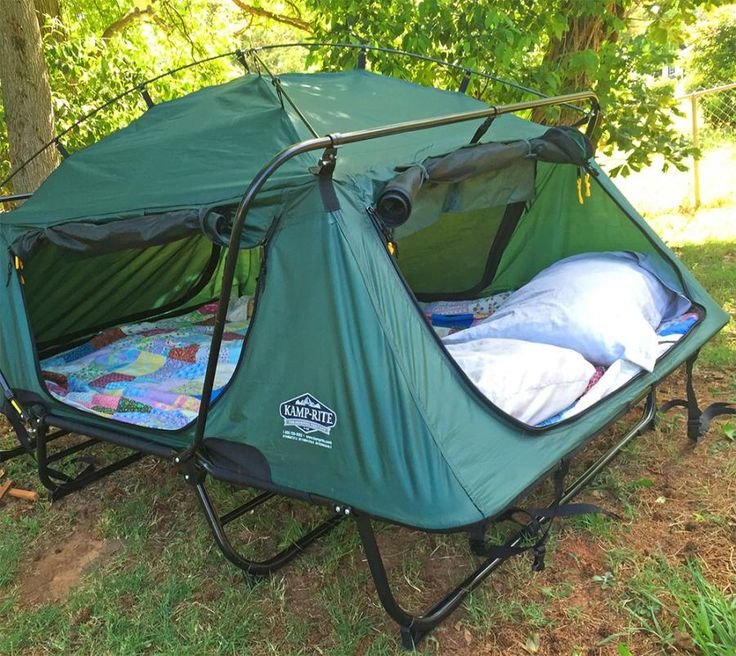 The Double Tent Cot Is A Pullout Bed In Tent Form
