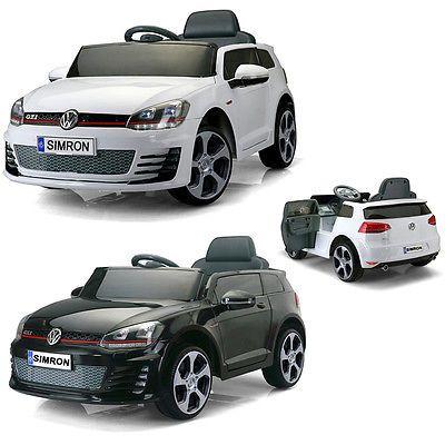 Golf GTI Kinderauto Kinderfahrzeug Kinder Elektroauto 2x Motor 12V Fernbedienung
