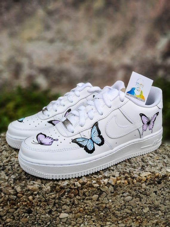 nike air force 1 papillon