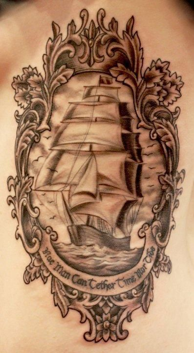 tttthjlghlkjhzsxTattoo Ideas, Tattoo Sleeve, Sailing Ships, Tall Ships, A Tattoo, Pirates Ships Tattoo, Tattoo Ink, Costumes Ideas, Sailing Boats