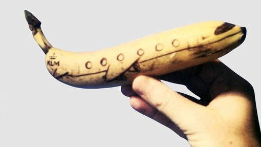 Iedere dag een versierde banaan mee naar school - HLN.be