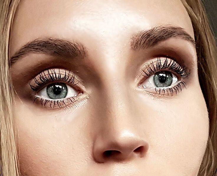 Natural eye makeup - josieholmlund