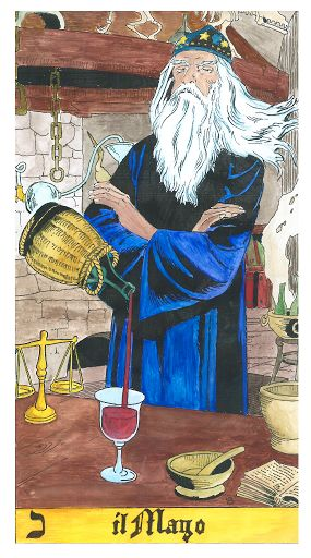 1 Il bagatto o mago